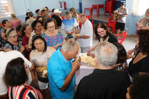 Celebração da Semana do Idoso movimenta atividades do Centro de Convivência em Pérola.