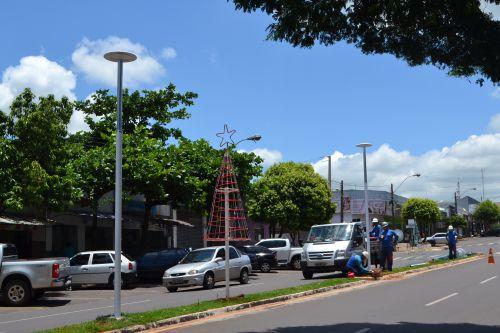 Iluminação Central da Avenida