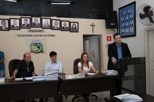 Empossados, Vereadores Mirins defendem melhorias para escolas.