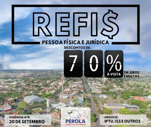 Refis 2019: contribuintes de Pérola podem quitar dívidas com desconto