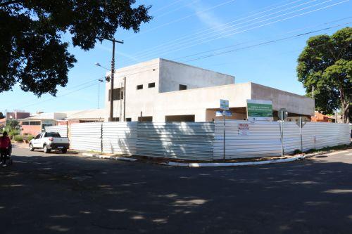 Obras de ampliação do Hospital Municipal avançam para a fase final