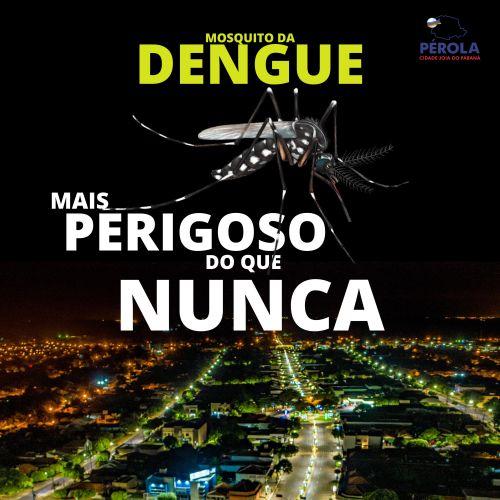 Aumentam os números de casos de Dengue em Pérola.