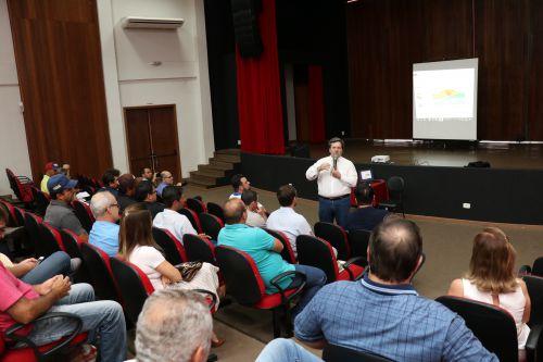 Palestra sobre Integração Lavoura-Pecuária abre as atividades da 15ª ExpoPérola