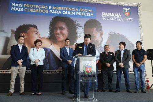 Darlan Scalco anuncia mais recursos para a Assistência Social.