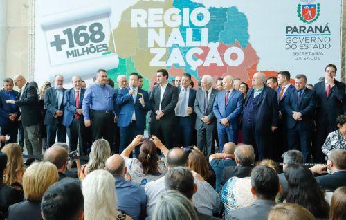 Mais de um milhão de reais serão investidos na saúde de Pérola no próximo ano.