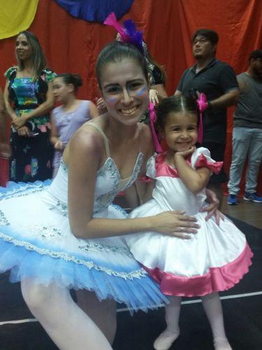Pérola forma sua primeira Bailarina