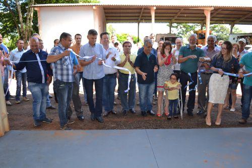 Mais uma obra é inaugurada em Pérola