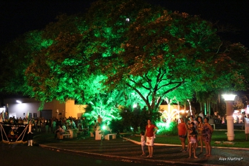 Inauguração da Iluminação Natalina