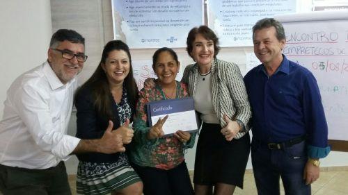 Primeiros pioneiros Empretecos 2017 de Pérola/PR