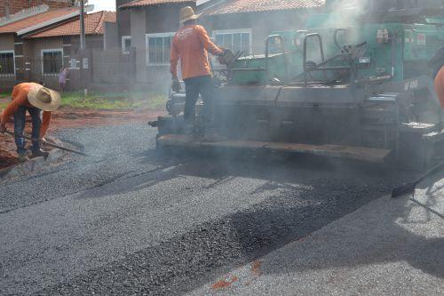 Pérola cada vez mais próxima dos 100% de pavimentação asfáltica