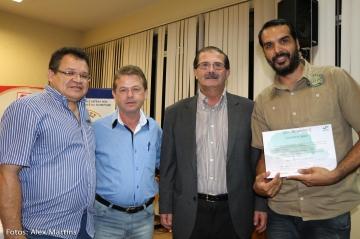 Entrega do Certificado do Curso Bom Negócio Paraná