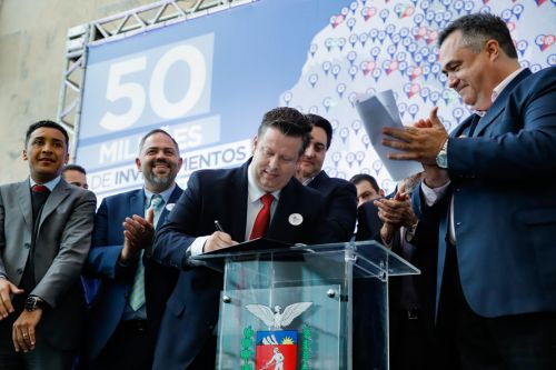 Darlan Scalco garante recursos para saúde de Pérola.