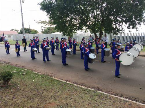 Fanfarra Municipal participa de Encontro de Fanfarras em Cafezal do Sul.