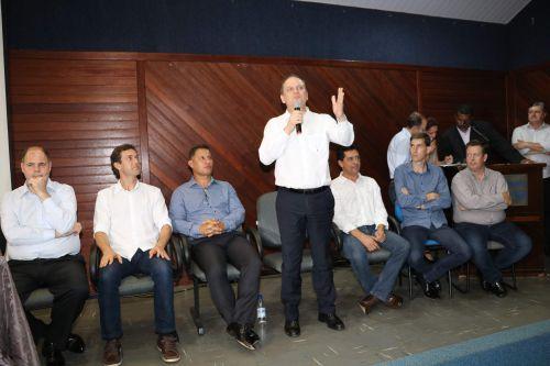 Prefeito Darlan dá boas vindas ao novo Chefe da Casa Civil do Paraná
