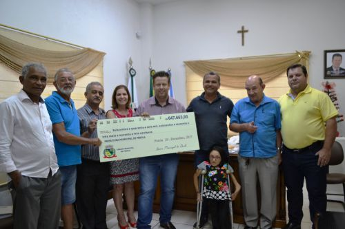 Câmara devolve mais de 600 mil para a Prefeitura de Pérola