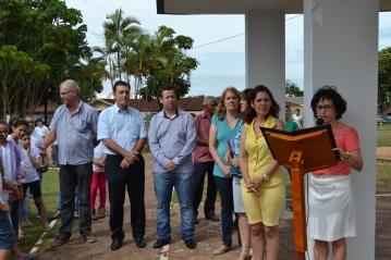 Inauguração do Mural Cultural