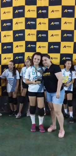 Pérola encerra mais uma participação com títulos no Voleibol