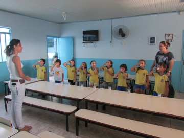Secretaria de Saúde realiza campanha de desverminação infantil
