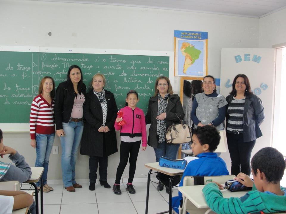 Os alunos dos 5º anos das Escolas Municipais