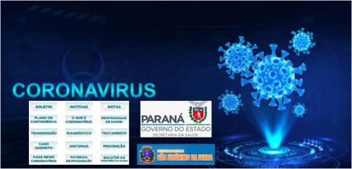 CORONA VIRUS - TROQUE A PREOCUPAÇÃO PELA INFORMAÇÃO - UMA CAMPANHA DO GOVERNO DO ESTADO DO PARANA