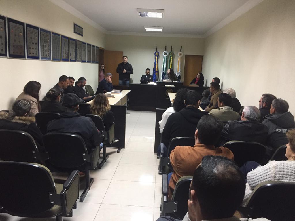 Audiência Pública para discutir causas e soluções para melhoramento do Trânsito do Município de São Jerônimo da Serra.