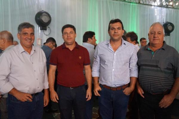 Cerimônia de assinatura do Convênio entre a Klabin, o Governo do Estado do Paraná, para lançamento de Escola Técnica de Operação Florestal e Agrícola de Ortigueira.