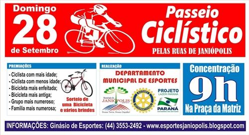 Passeio Ciclisto