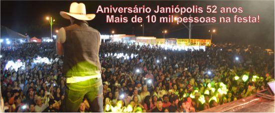 Festa 52� Anivers�rio de Jani�polis!