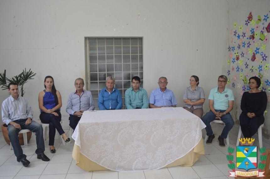 Conselheiros Tutelares de Janiópolis tomaram posse nesta segunda