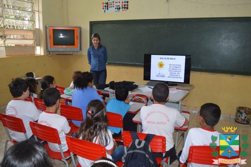 Janiópolis realiza ações do 18 de maio no combate ao abuso contra crianças e adolescentes