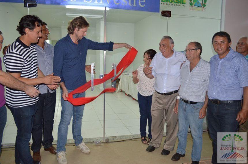 Unidade de Saúde de Bredápolis é inaugurada