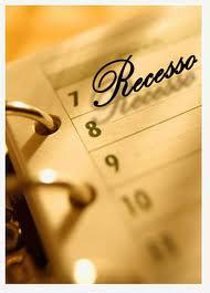 Recesso compreenderá dois períodos, de 15 de fevereiro a 30 de junho e de primeiro de agosto a 15 de dezembro