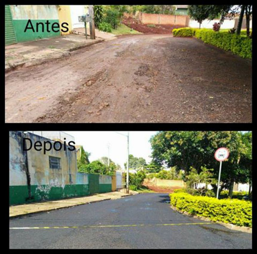 Recuperação das vias urbanas