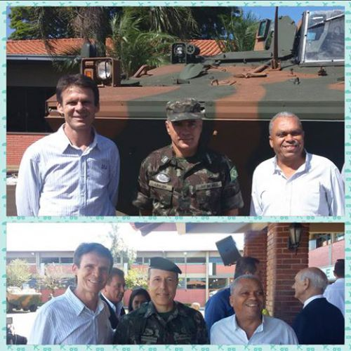 Posse dos presidentes e secretários das Juntas de Serviço Militar de toda a região.