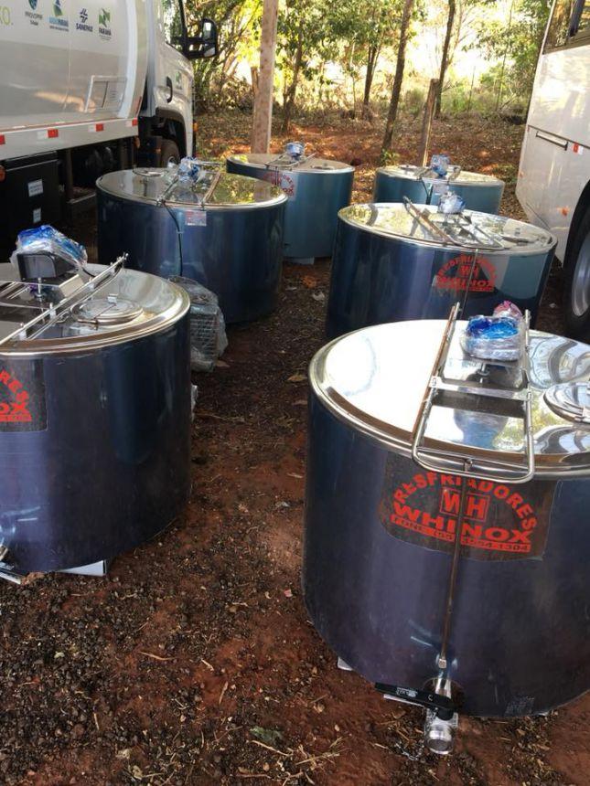 Resfriadores de leite para os produtores leiteiros