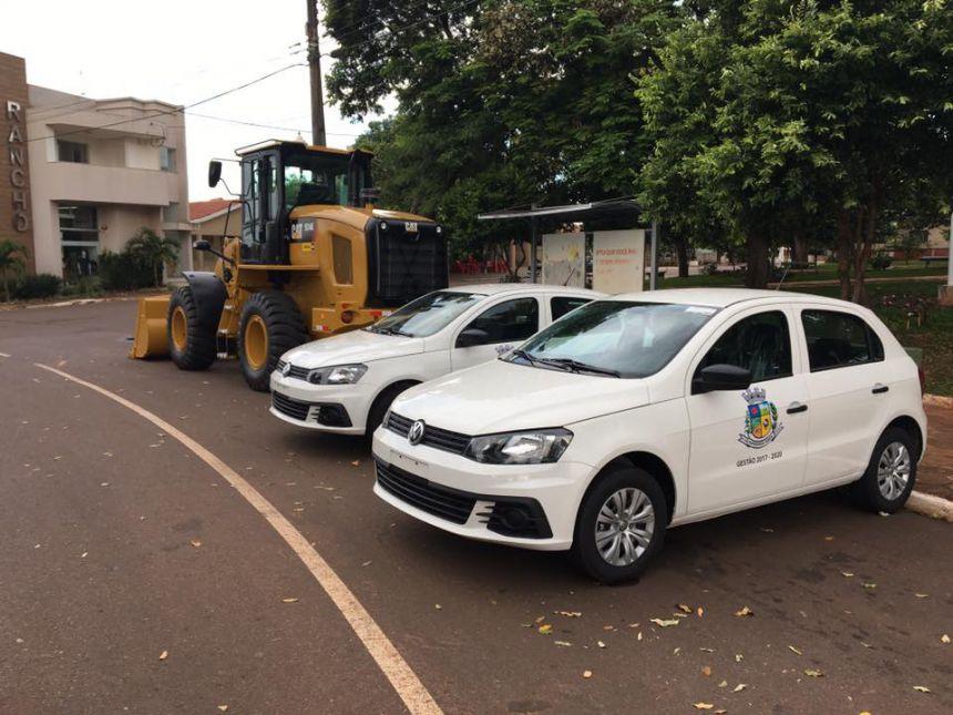 Novos veículos adquiridos