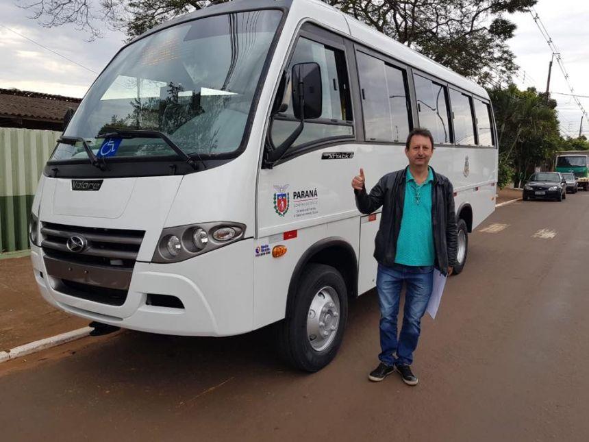 Novo ônibus adquirido