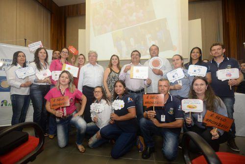Unidades de Saúde de Esperança Nova recebem Selo de Bronze