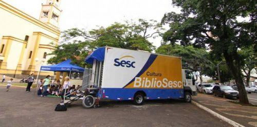 Caminhão BiblioSesc