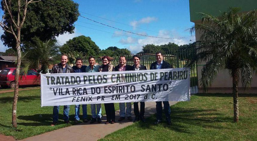 """João Claudio assina o """"Tratado do Peabiru"""" para incentivar turismo regional"""