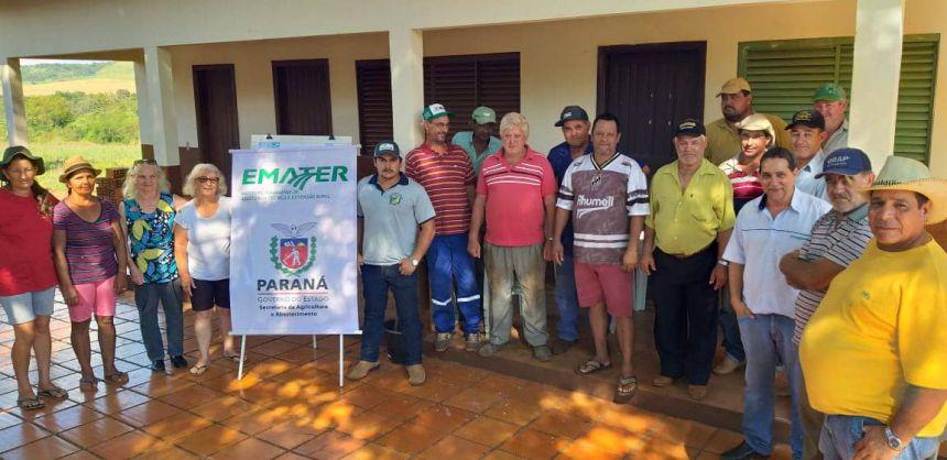 Agricultores de Quinta do Sol recebem treinamento sobre manejo do solo
