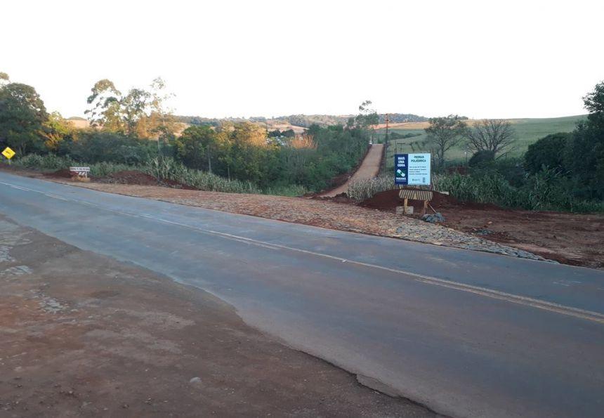 Prefeitura de Quinta do Sol finaliza pavimentação do Cemitério Municipal