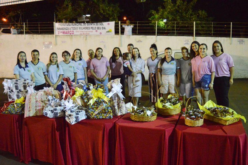 Prefeitura de Quinta do Sol realiza homenagem ao Dia da Mulher