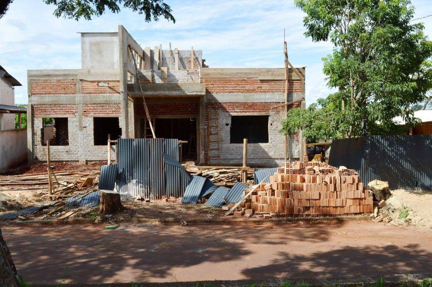 Construção do CRAS de Quinta do Sol entra na reta final