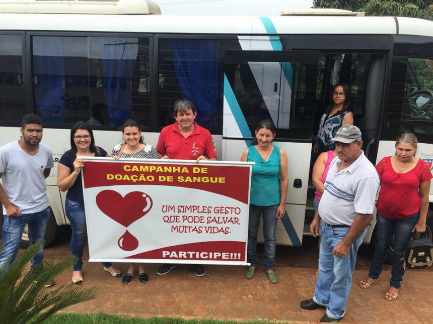 Secretaria de Saúde de Quinta do Sol incentiva doação de sangue