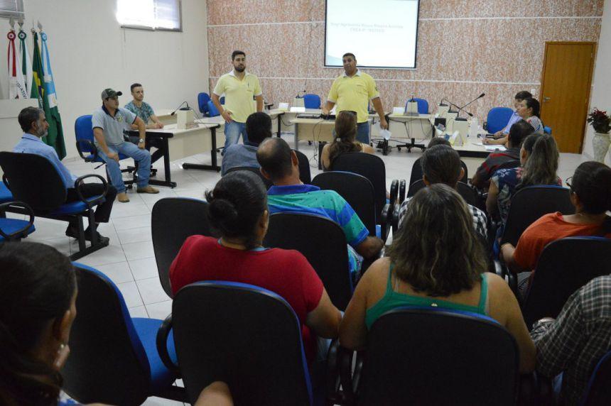 Agricultores de Quinta do Sol participam de capacitação sobre comercialização de produtos