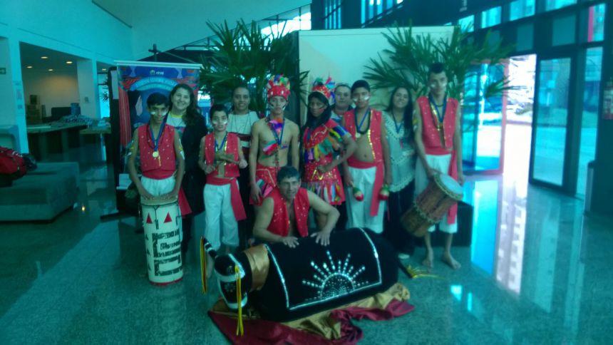 Alunos da APAE de Quinta do Sol participam do Festival Nossa Arte em Cascavel