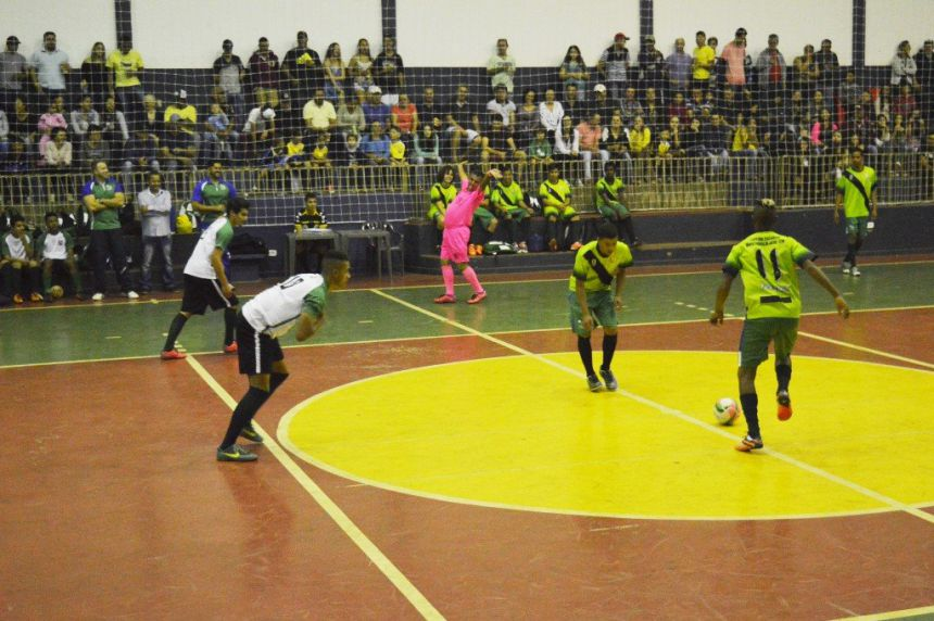 Quinta do Sol abre Campeonato Regional de Futsal.