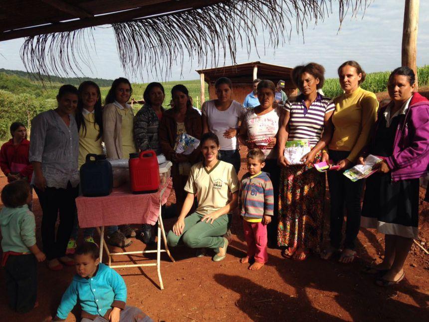 Saúde de Quinta do Sol Faz Reunião no Acampamento Santa Catarina