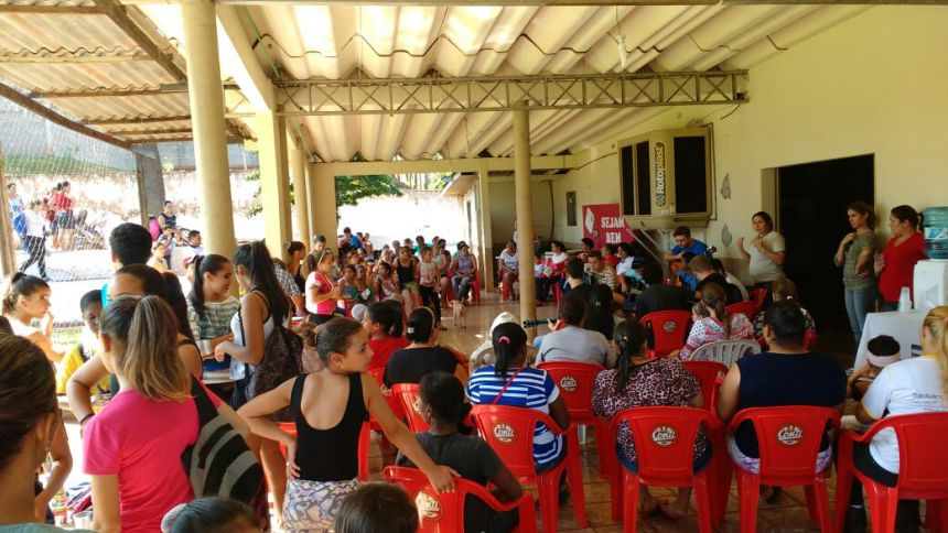 CRAS de Quinta do Sol Promove Encontro de Oficinas para as Mães